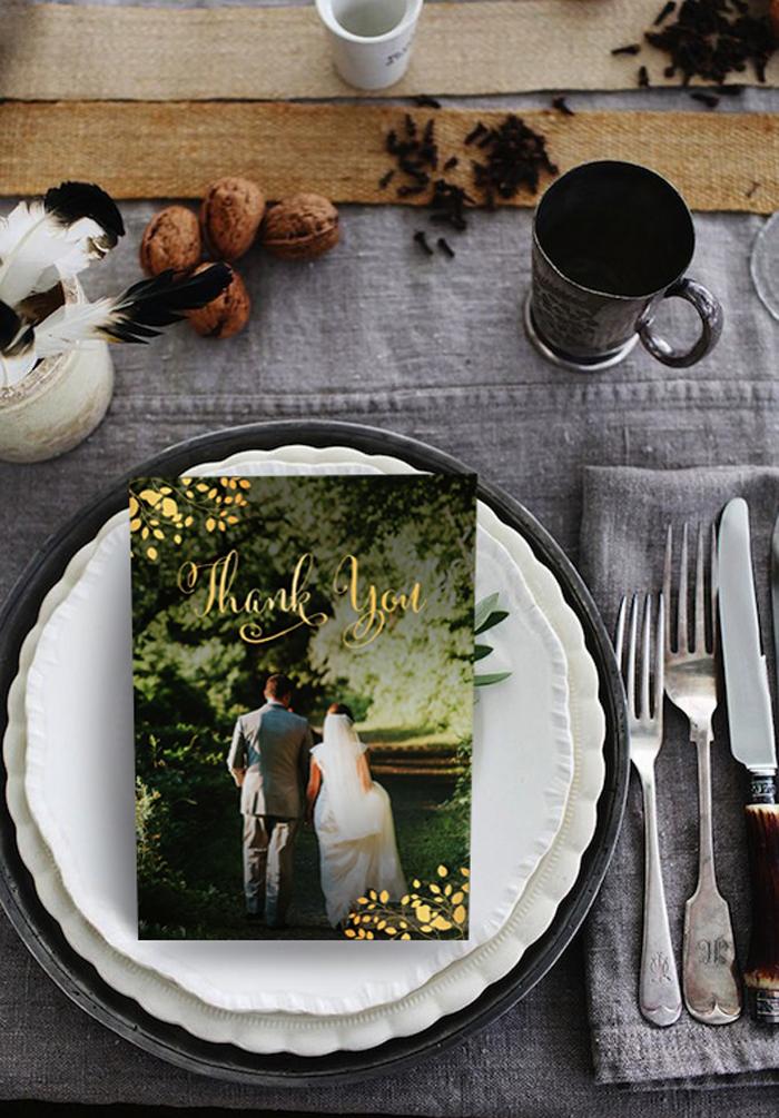 Wedding Thank You Cards by 123WeddingCards
