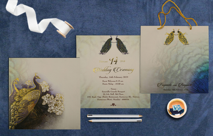 Box Wedding Invitation