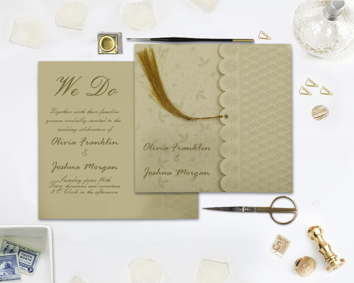 Caligraphy Wedding Invitations