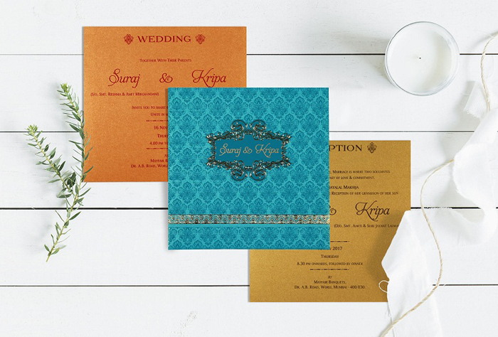 Contrast Wedding Invitations