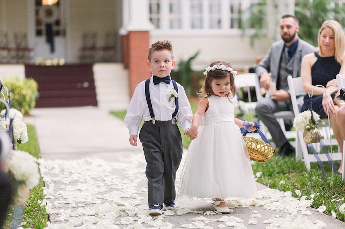 Kids invited in wedding