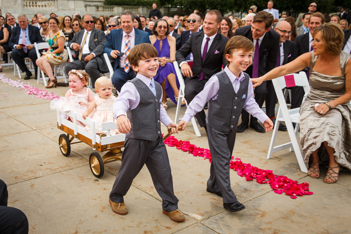 Adding bounciness in weddings