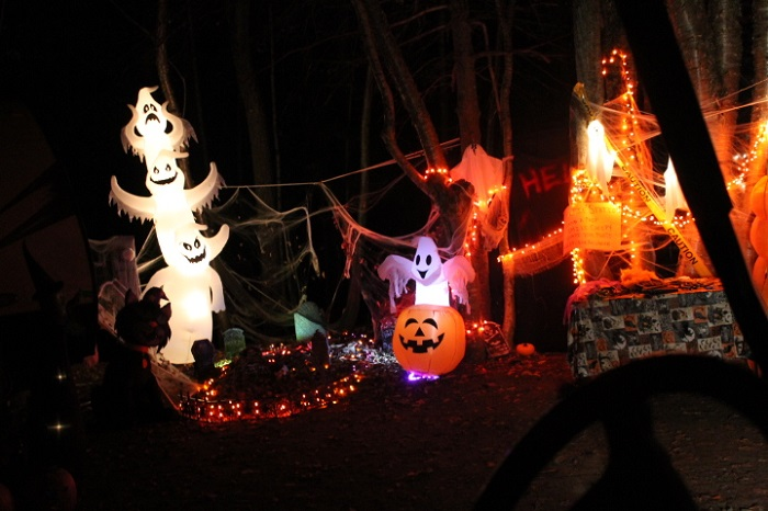 Halloween Twinkle Light Canvas