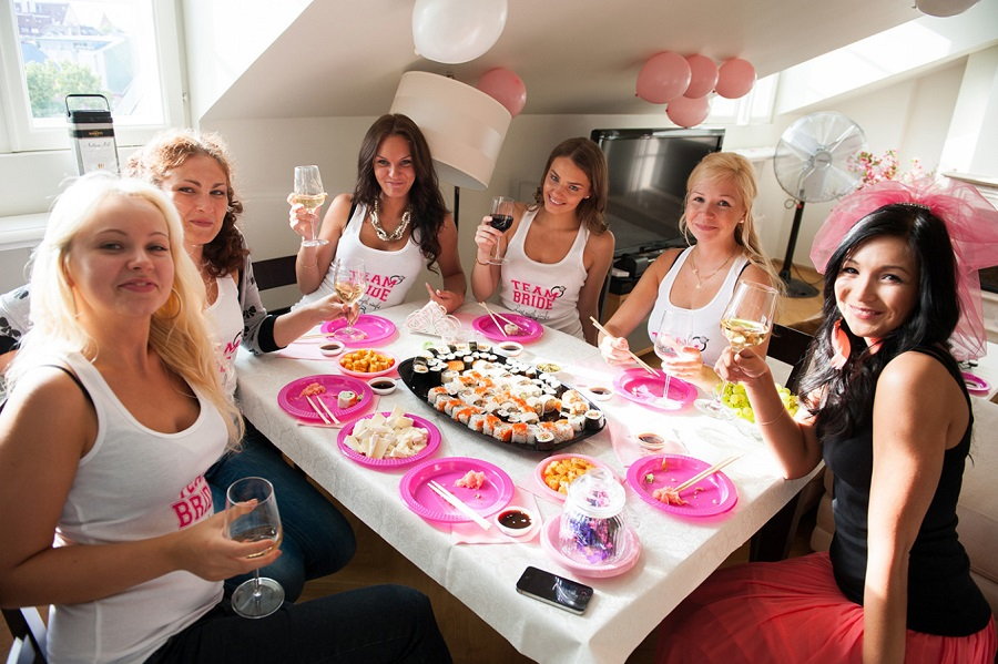 hen party dinner idea