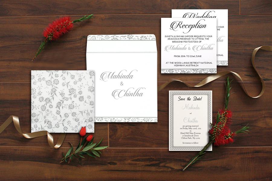 Unique and Latest Design Wedding Invites