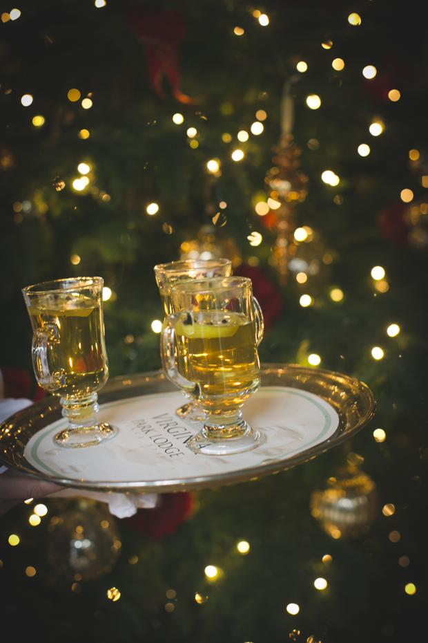 Cocktail for a Christmas Wedding - 123WeddingCards