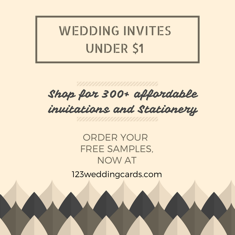 Wedding Invites Under $1
