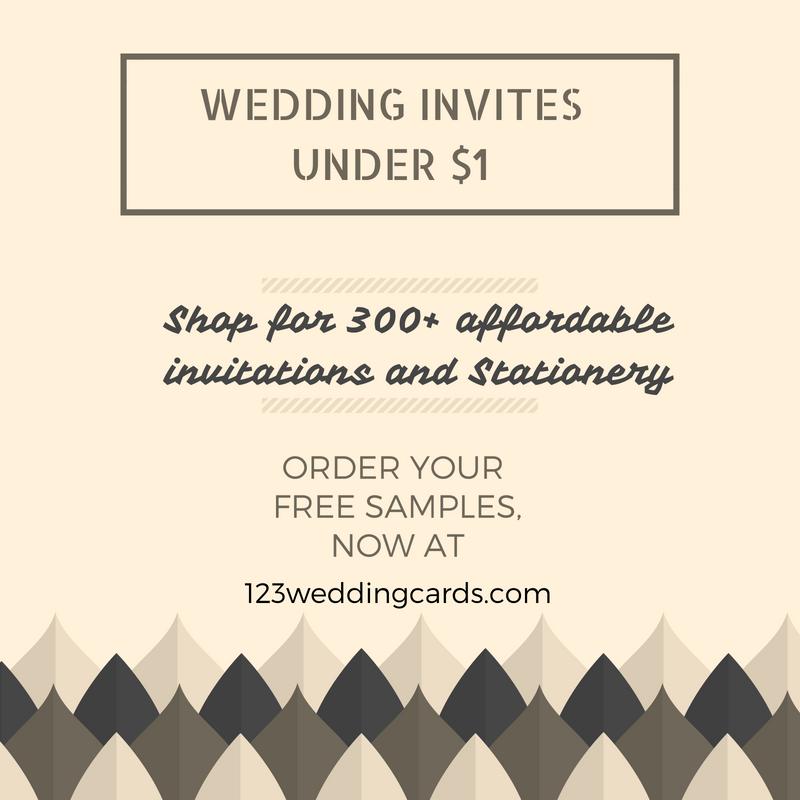 Wedding Invites Under $1