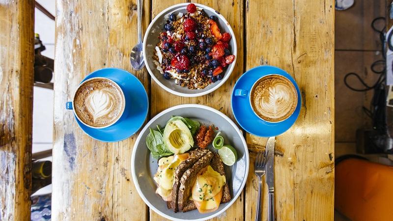 Have healthy breakfast