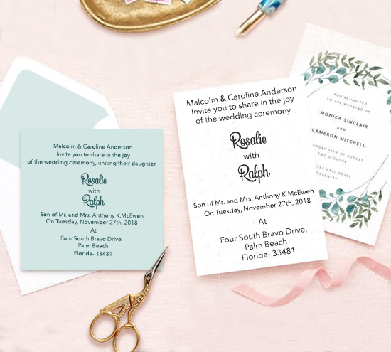 Personal Cards by 123WeddingCards