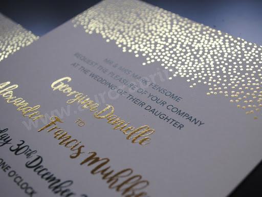 Digital foil printing