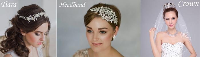 Crown, tiara and headband
