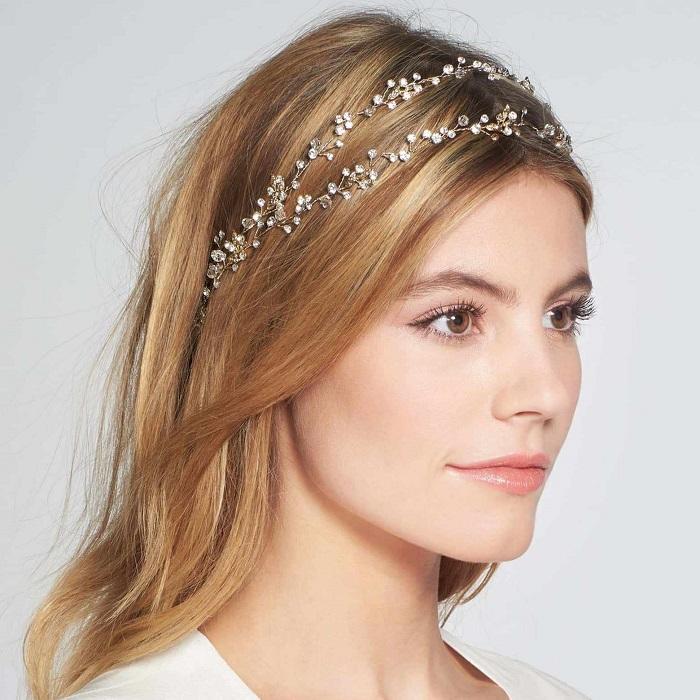 Double Band Wedding Crown