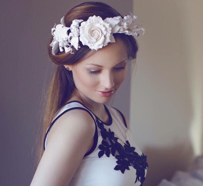 Wreath headband