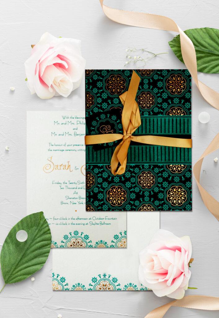 Trendy Wedding Invitations - 123WeddingCards
