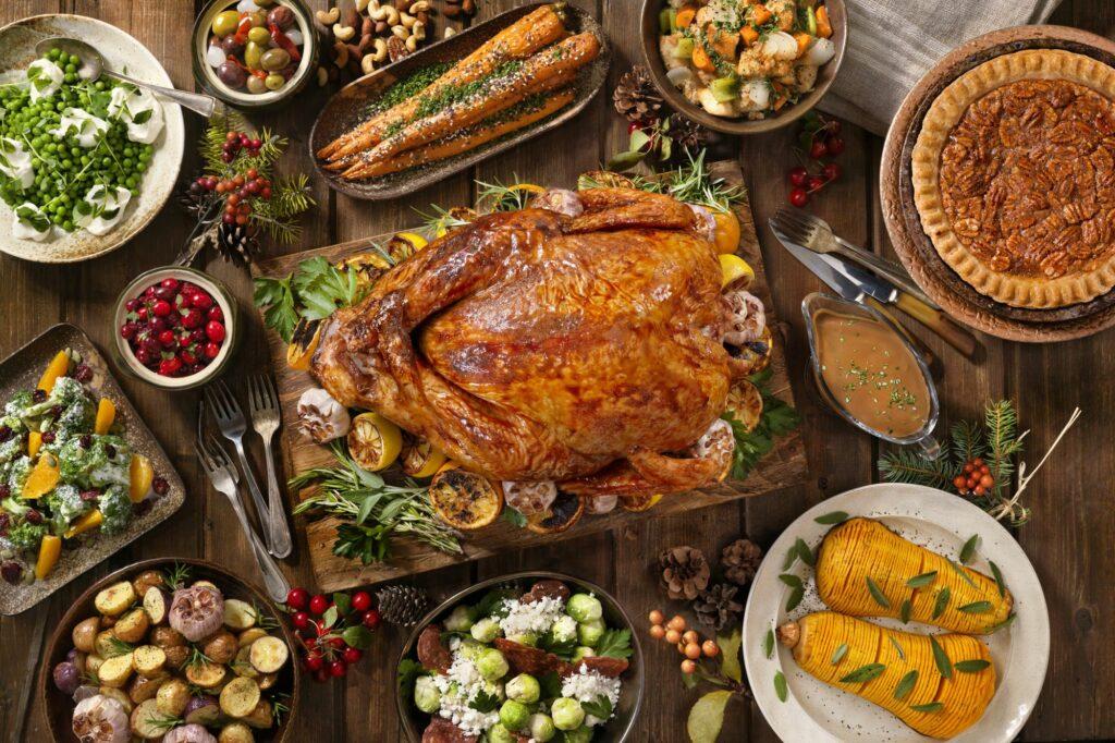 Dinner Menu for Thanksgiving