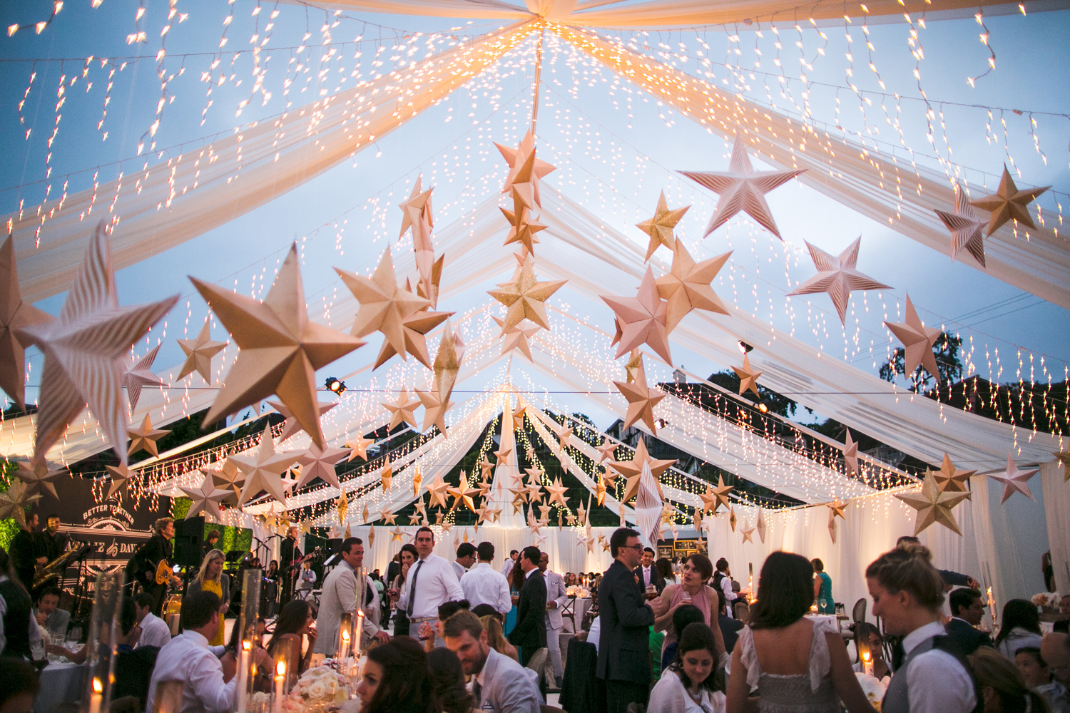 Tents and Twinkly Lights