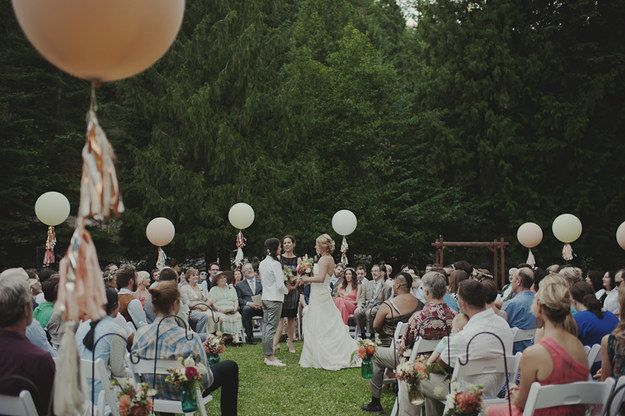 Circular seating pattern For LGBT Pride Wedding