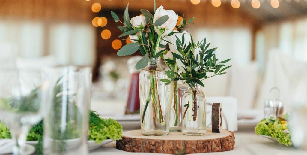 DIY wedding décor