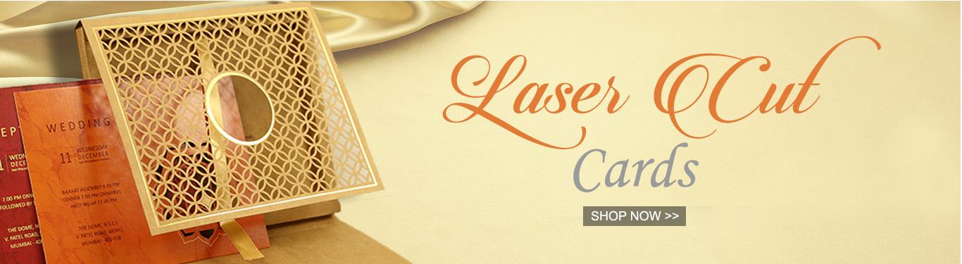 Laser Cut Wedding Invitations by 123WeddingCards