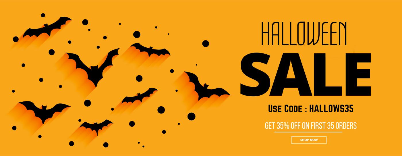 35% Off on INVITATIONS, Halloween Sale 2021