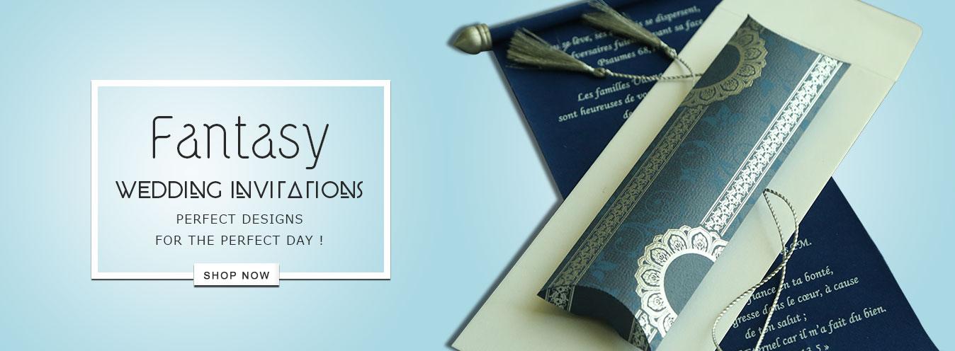 Theme Based Wedding Invitations- 123WeddingCards