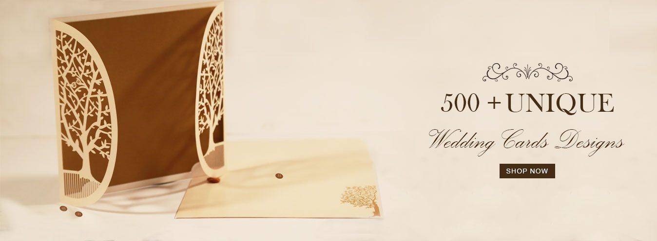 Unique Wedding Cards Designs -123WeddingCards