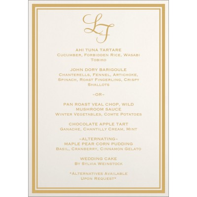 Menu Cards MENU-8203A - 123WeddingCards