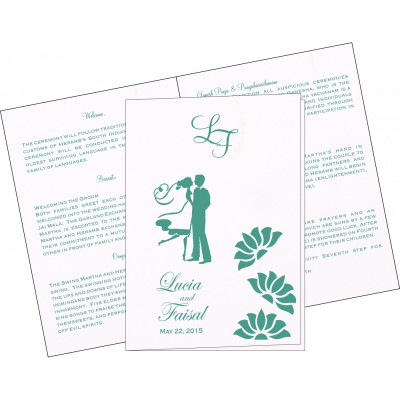 Program Booklets 6361 - 123WeddingCards