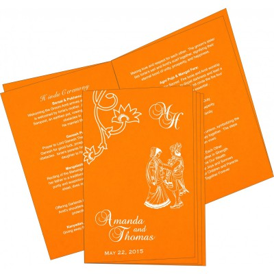 Program Booklets 6725 - 123WeddingCards