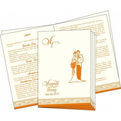 Program Booklets PC-8202B - 123WeddingCards
