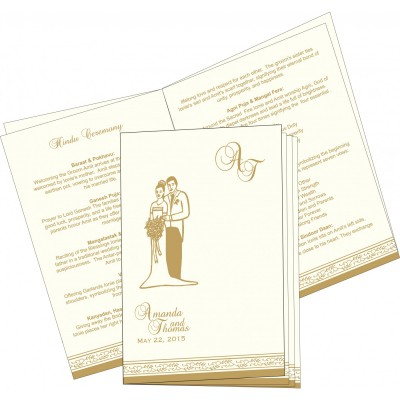 Program Booklets PC-8202D - 123WeddingCards