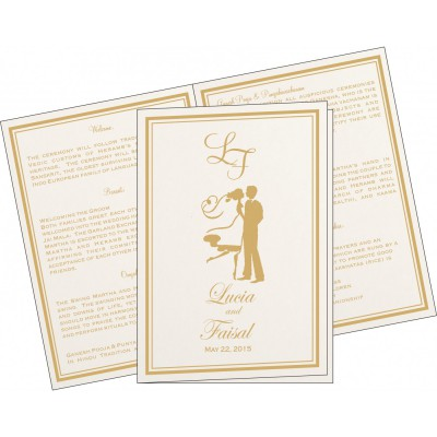 Program Booklets PC-8203A - 123WeddingCards