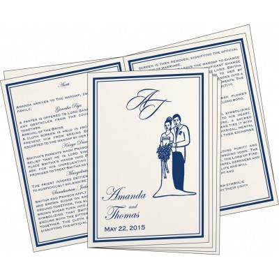 Program Booklets PC-8203B - 123WeddingCards