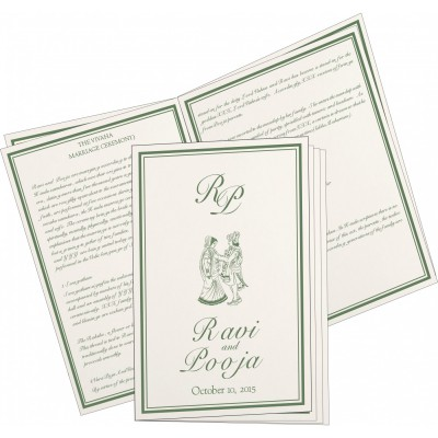 Program Booklets PC-8203D - 123WeddingCards