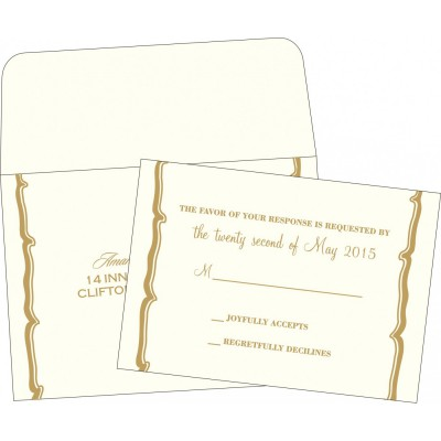 RSVP Cards 6389 - 123WeddingCards