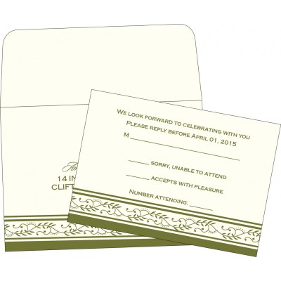 RSVP Cards RSVP-8202C - 123WeddingCards