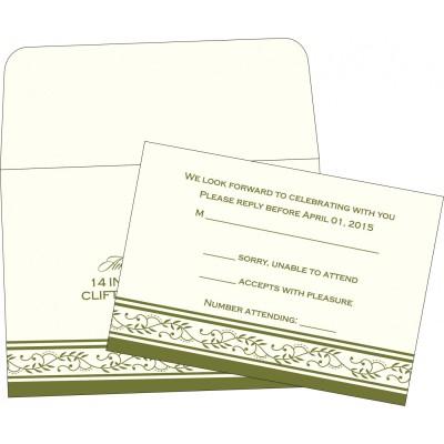 RSVP Cards RSVP-8202C - 123WeddingCards