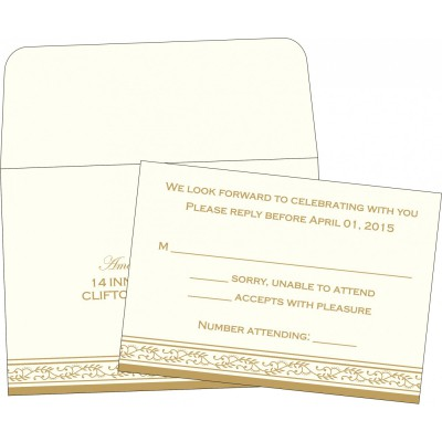 RSVP Cards RSVP-8202D - 123WeddingCards
