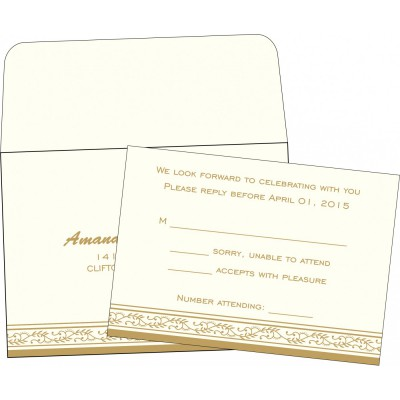 RSVP Cards RSVP-8202E - 123WeddingCards