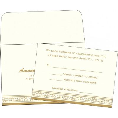 RSVP Cards RSVP-8202E - 123WeddingCards