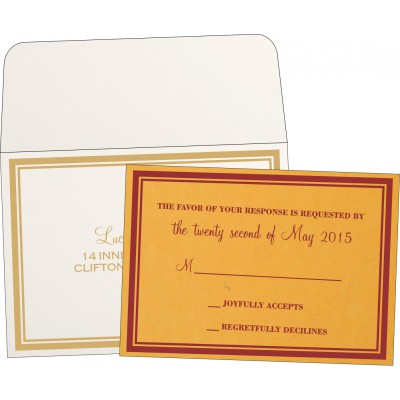 RSVP Cards RSVP-8203A - 123WeddingCards