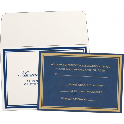 RSVP Cards RSVP-8203B - 123WeddingCards