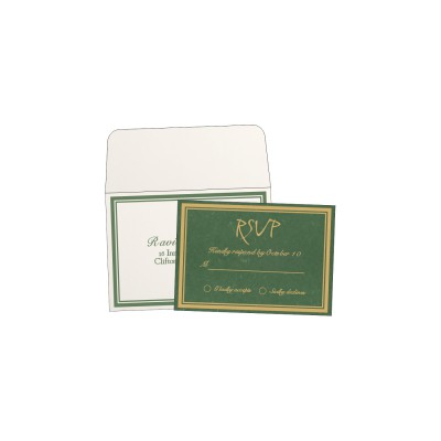 RSVP Cards RSVP-8203D - 123WeddingCards