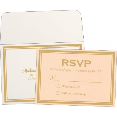 RSVP Cards RSVP-8203E - 123WeddingCards