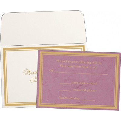 RSVP Cards RSVP-8203H - 123WeddingCards