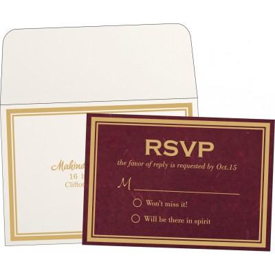RSVP Cards RSVP-8203K - 123WeddingCards