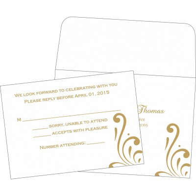 RSVP Cards 2043 - 123WeddingCards