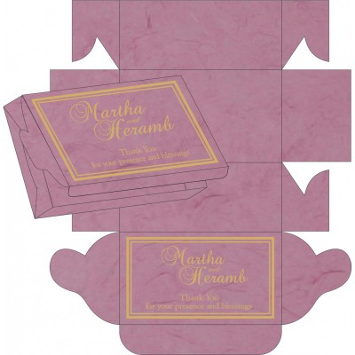 Cake Sweet Boxes SB-8203H - 123WeddingCards