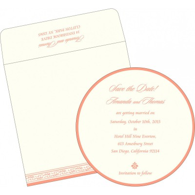 Save The Date Cards 396 - 123WeddingCards